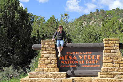 Angela at Mesa Verde