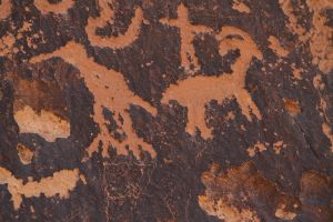 Petroglyphs, Newspaper Rock State Historic Site, Utah