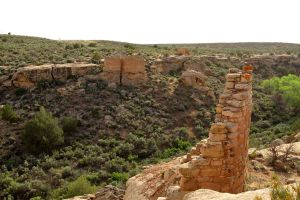 Surface Ruins, Hovenweep National Monument, Utah